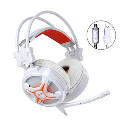 WeIM Gaming Headset Virgo M60 White 7.1 Surround Sound for P