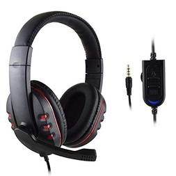 New PC Gaming Headset Voice Control Wired HI-FI Sound Qualit