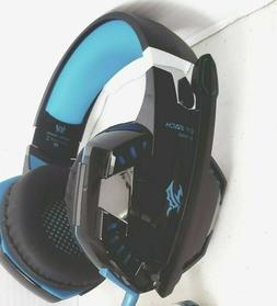 GAMING HEADSET W/MIC FOR PC PS4 XBOX ONE W/LED LIGHT NOISE R