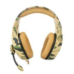 Gaming Headset Wired Headphone noise reduction stereo music