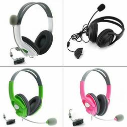 Gaming Headset With Adjustable Microphone For Xbox 360 Durab