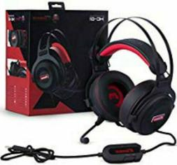 gaming headset with microphone premium 3d hd