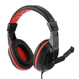 Brave669 3.5mm Gaming Music Headset Stereo Earphone Wired Co
