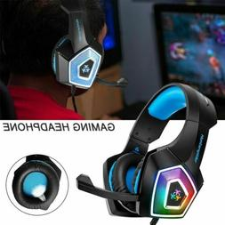 Gaming Headphone Noise Cancelling Color-Changing Headset Ste