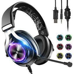 Gaming Over-Ear Headphones Headsets Mic Stereo For Xbox One