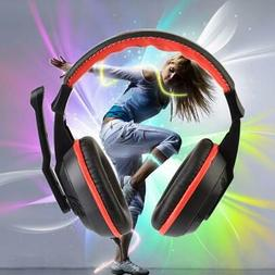 Gaming Stereo Headset Earphone Headphones PC Computer