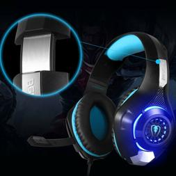 Beexcellent GM-1 Gaming Headset USB LED 3.5mm Wired Stereo M