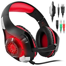 AFUNTA GM-1 Gaming Headset Compatible New Xbox One PS4 PC Ta