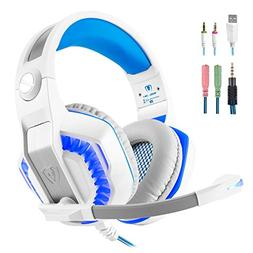 Gaming Headset for PS4 Xbox One, Beexcellent Stereo Over Ear