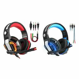 Beexcellent GM-2 Gaming Headset con microfono, supporta nuov
