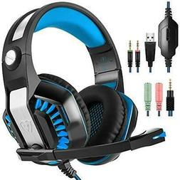 GM-2 Gaming Headset for PS4 Xbox One PC Laptop Smartphone Ta