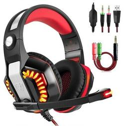 Beexcellent GM-2 Gaming Headset with Microphone, Supports Ne