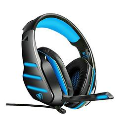 Beexcellent GM-3 Pro Wired Gaming Headset with Mic, LED Ligh