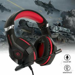 GM-6 Gaming Headset Mic Headphones Stereo Surround for Ninte