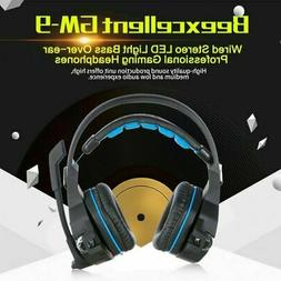 Beexcellent GM 9 Wired Gaming Headphones Headset Hi-Fi USB S