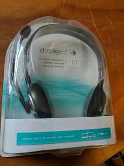 Logitech H111 3.5 mm Noise Cancelling Headset w/ Mic Gaming