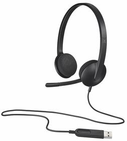 Logitech H340 USB Headset with Noise-Reducing Microphone for