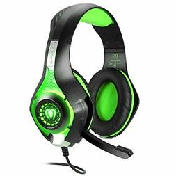 Braided Wired Video Players Gaming Headset Headphone Microph