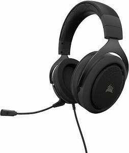 CORSAIR - HS50 PRO Wired Stereo Gaming Headset - Carbon