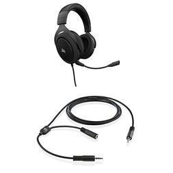 CORSAIR HS50-Stereo Gaming Headset-Discord Certified Headpho
