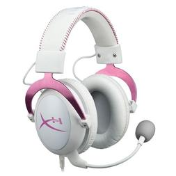 HyperX Cloud II Gaming Headset for PC & PS4 - Pink