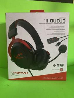 HyperX KHX-HSCP-RD Cloud II Pro Wired Gaming Headset - Red,