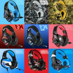 ONIKUMA K1 Pro/2/5 Stereo Surround Gaming Headset for PS4 Ne