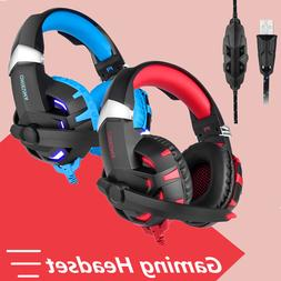 Onikuma K2 Gaming Headset USB 7.1 Headphone with Mic for PC