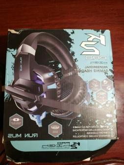 K2 Pro High Performance Professional Gaming Headset  New