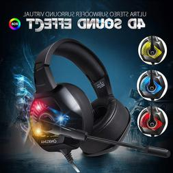 k6 3 5mm pc gaming headset stereo