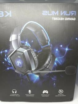 RUN MUS K8 Stereo Gaming Headset for PS4 Xbox One Nintendo S