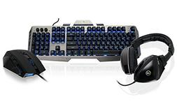 IOGEAR Kaliber Gaming Virtual Surround Gamer Pack - includes