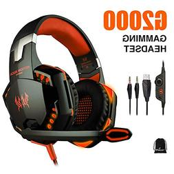 vapeonly KOTION Each G2000 PC Gaming Headset Over-Ear Game G