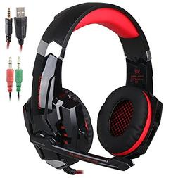 KOTION EACH G9000 3.5mm Game Gaming Headphone Headset Earpho