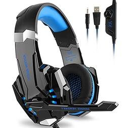 Kotion Each G9000 Gaming Headset Headphones 3.5mm Stereo Jac