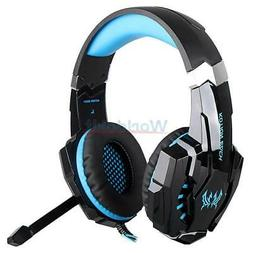 KOTION EACH G9000 Pro Gaming 3.5mm Stereo Headset USB LED He