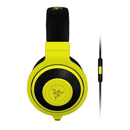 Razer Kraken Mobile Analog Music & Gaming Headset - Neon Yel