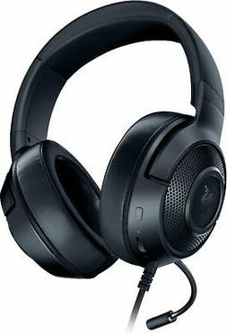 Razer Kraken X Wired Stereo Gaming Headset for PC PS4, Xbox