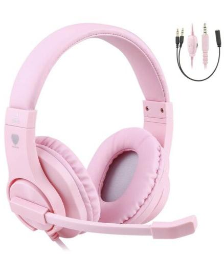 3 5mm bass stereo over ear gaming