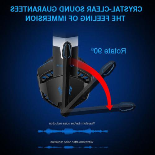 Headphones Surround for PS3 PS4 X 360 E
