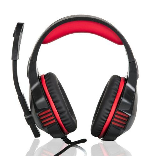 3.5mm Red Stereo for PC PS4 Xbox one