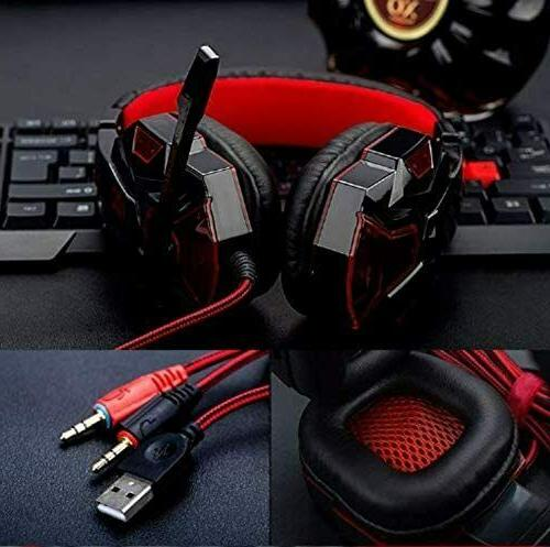 3.5mm Gaming Headset LED Stereo One