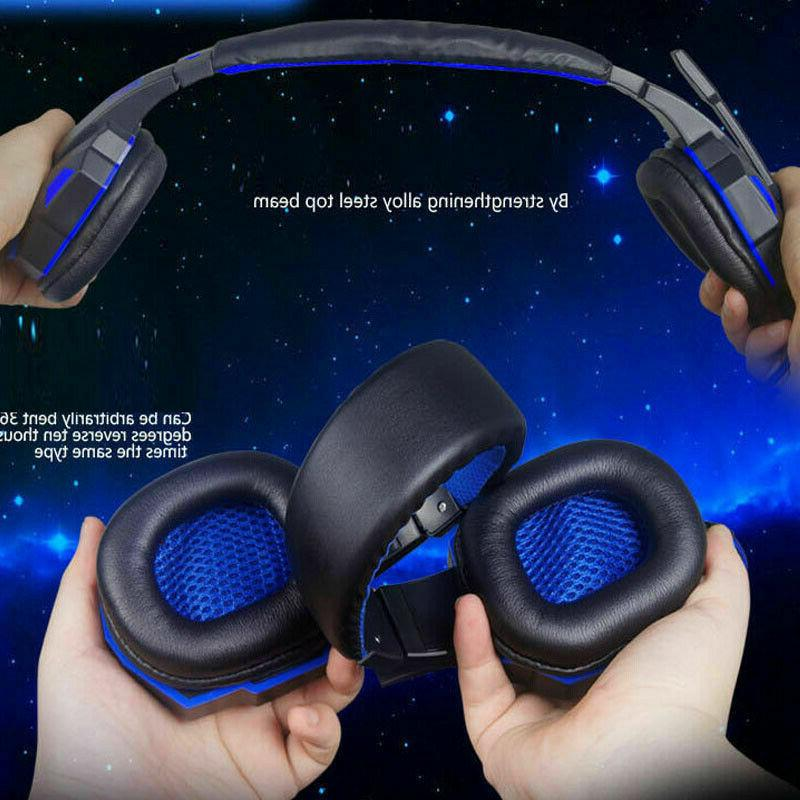 LED Headphones Bass Surround For One