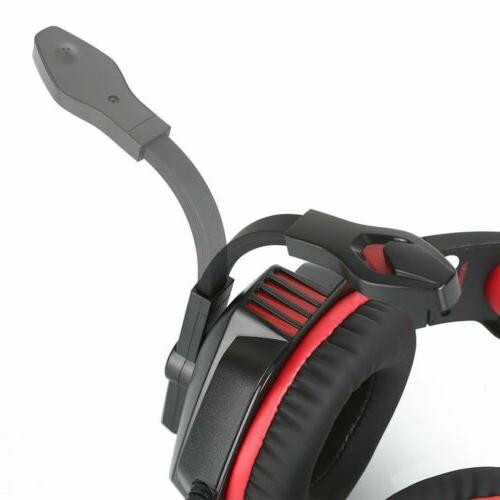 3.5mm Gaming Mic LED Headphones For PC Laptop One X S