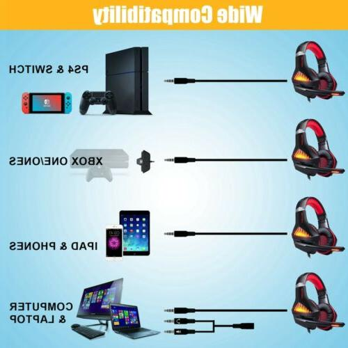 3.5mm Headset with Mic LED Laptop,