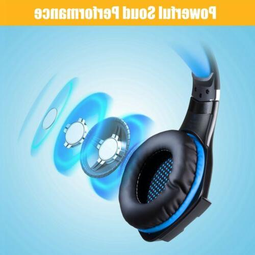 3.5mm Headset Mic Lights Playstation Xbox one, Laptop, PC