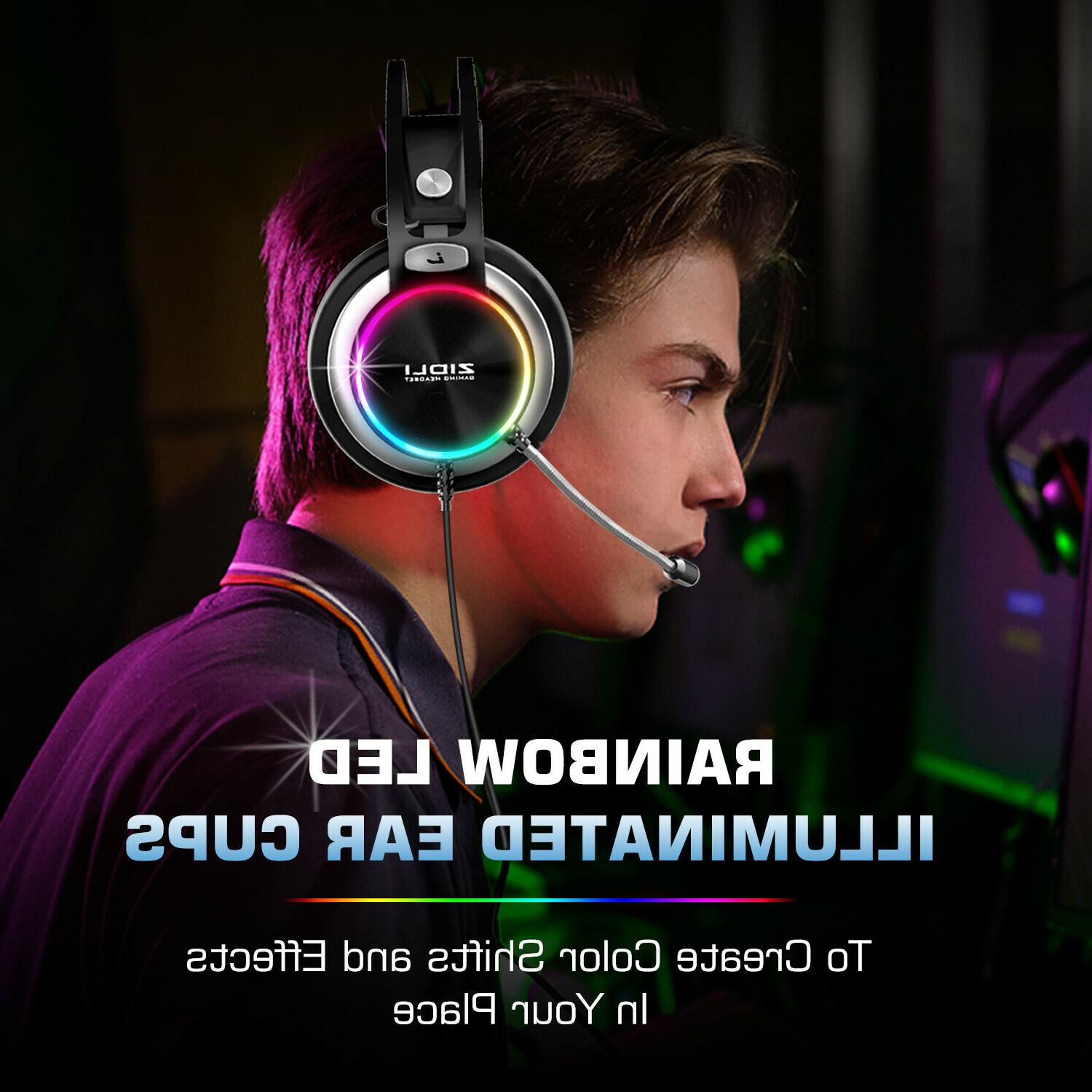 ZIDLI Pro Gaming With PS4/Xbox/PC/Nintendo Switch