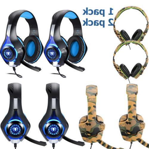 3 5mm wired gaming led headset headphone
