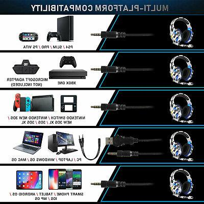 Gaming Headphone Mic for PS4 One