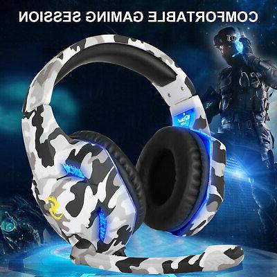 3.5mm Stereo Gaming Headset Headphone Mic for New One
